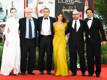 Фильм Джорджа Клуни «Мартовские иды» открывал 68-ой Венецианский кинофестиваль