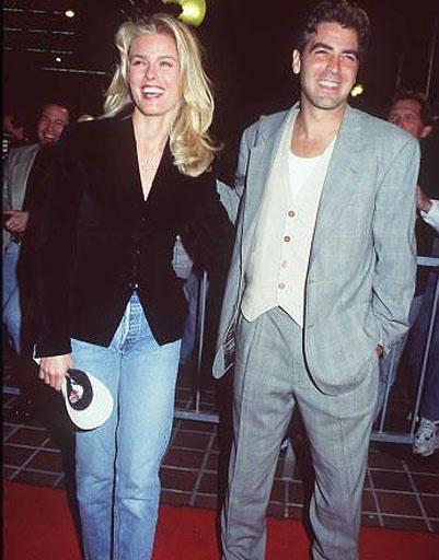 Джордж Клуни (George Clooney) и Вендела Кирсбом (Vendela Kirsebom)