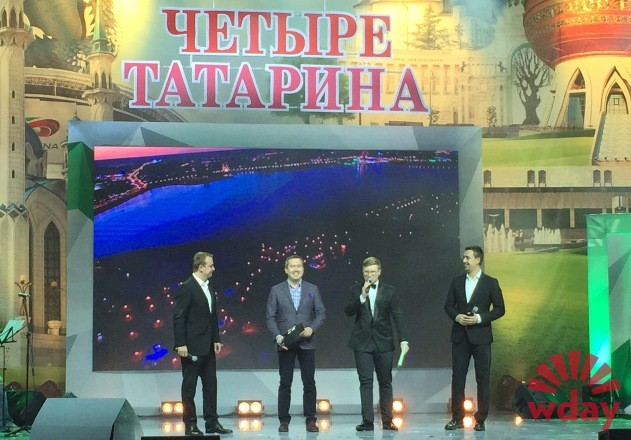 Шоу Четыре татарина Дамир Фаттахов Игорь Сивов