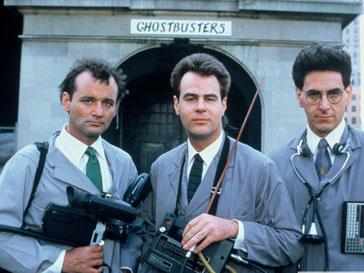 Кадр из фильма «Охотники за приведениями» 1984 года
