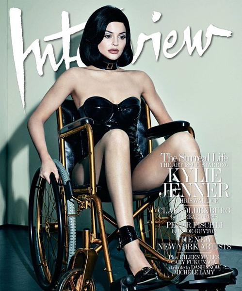 Кайли Дженнер оскорбила инвалидов