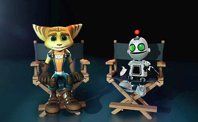 Рэтчет и Кланк, кадр из мультфильма
