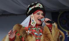 Надежда Бабкина отгуляла Масленицу в Новосибирске