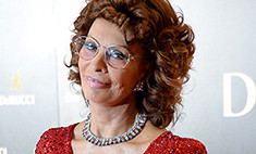Никас Сафронов отметил 59-летие с Софи Лорен