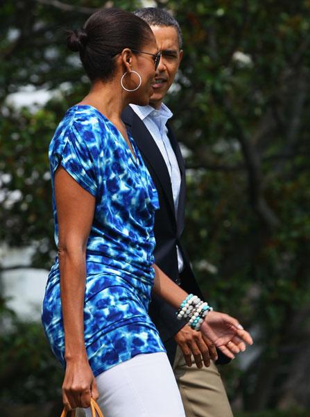 Мишель Обама, 2011 год