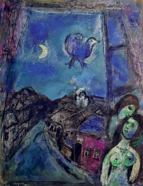 «Мне очень нравятся работы Марка Шагала — я бы хотел их купить».