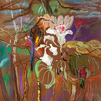 На создание аромата Eau Tropicale, Sisley, графиню Изабель д'Орнано вдохновил «Тропический лес» Кристины Радзивилл.