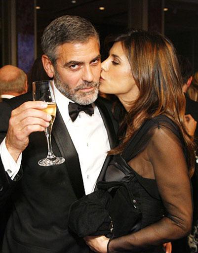 Джордж Клуни (George Clooney) и Элизабетта Каналис (Elizabetta Canalis)