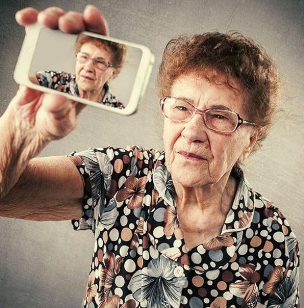 90-летняя бабуля стала звездой Инстаграма