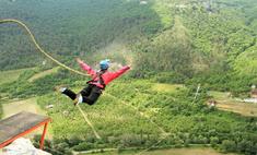 Прыжки с высоты на веревке – новое увлечение любителей острых ощущений