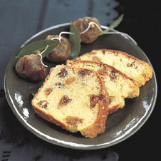 Кекс с инжиром и пармезаном