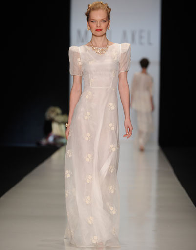 Показ коллекции MARI AXEL осень-зима 2013/14 Mercedes-Benz Fashion Week Russia
