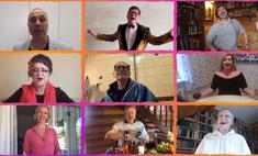 «Завершится этот долбаный всемирный маскарад!»: звезды старого КВНа записали смешную песню из карантина