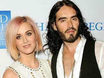 Рассел Брэнд (Russel Brand) и Кэти Перри (Katy Perry)