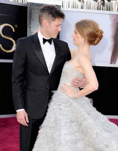 Эми Адамс (Amy Adams) и ее супруг Даррен Ле Галло (Darren Le Gallo)