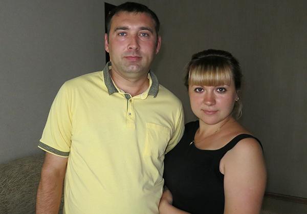 Ольга Кравченко с мужем Алексеем