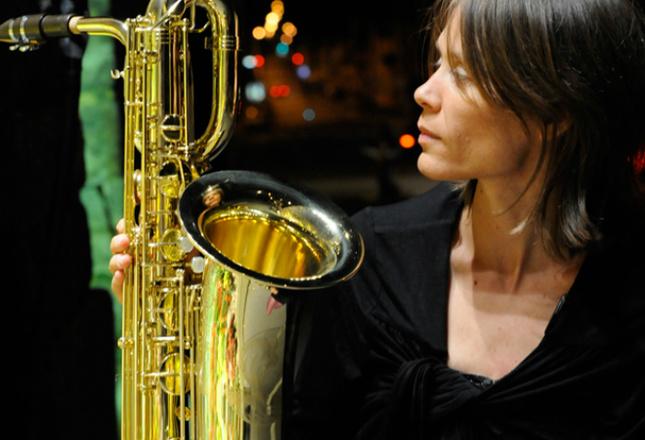 Лучшая саксофонистка Франции Celine Bonacina