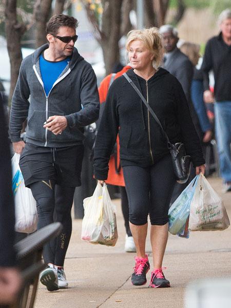 Хью Джекман с женой фото