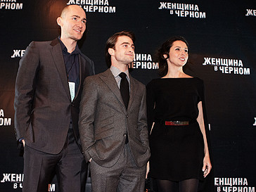 Дэниел Рэдклифф в Москве