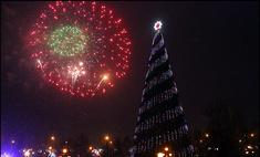 В Красноярске выбирают новое место для главной елки