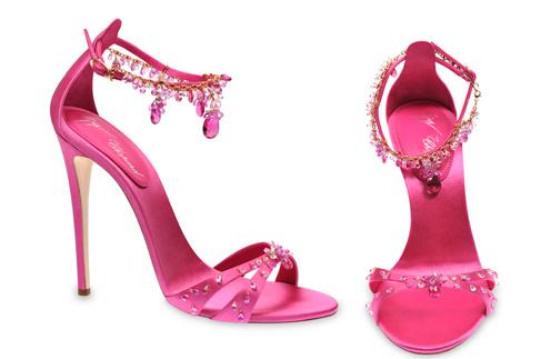 Туфли от Giuseppe Zanotti и Chopard