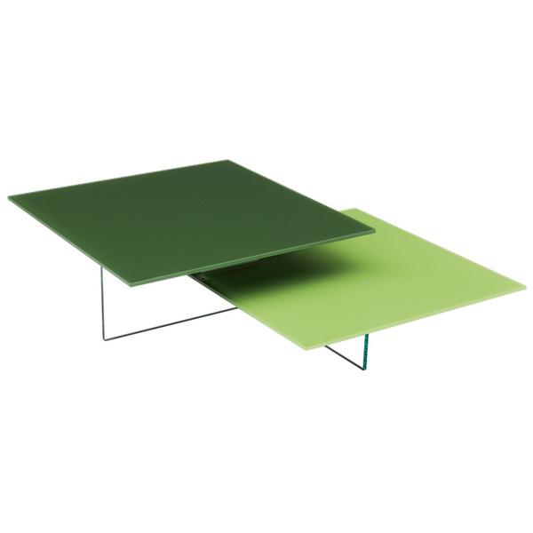 Журнальный столик Kris-kros. Производитель: Glas Italia. Дизайн: Марк Крузин (Marc Krusin). Материал: стекло.