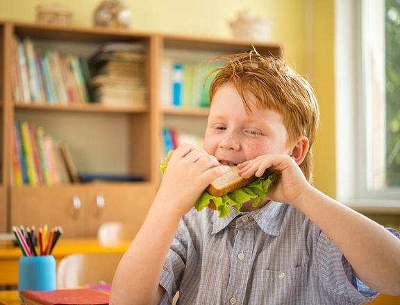 Школьный перекус. Бутерброды