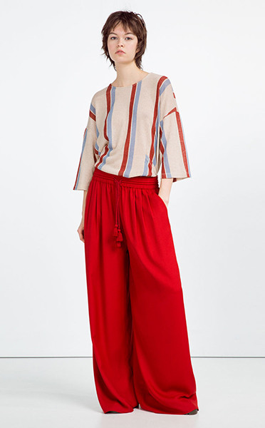 Блузка, брюки Zara, фото