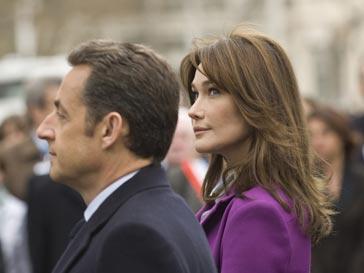 Николас Саркози (Nicolas Sarkozy) и Карла Бруни