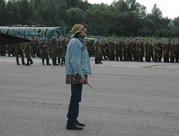 """Алексей Балабанов, съемки фильма """"Груз 200"""", фото"""