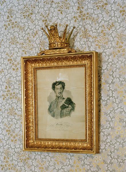 Портрет одного из членов королевской семьи в замке Стьернсунд.