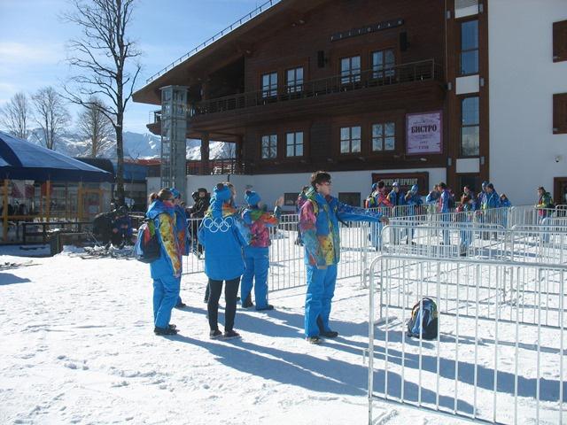 волонтеры на Олимпиады