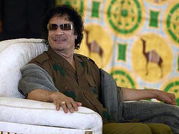 Муаммар Каддафи (Muammar Kaddafi) не привык жить в бедности