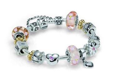 Цена на серебряные браслеты Pandora снизилась до 2900 рублей