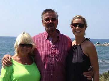 Хайди Клум (Heidi Klum) с родителями