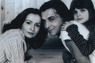 Алина Лазарева и Александр Лазарев с дочерью