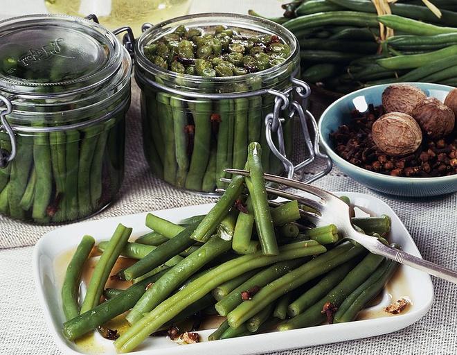 маринованная спаржевая фасоль рецепты приготовления