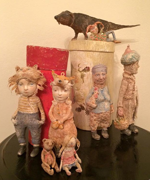 Наталья Доманцевич, Выставка «Тайна кукольного шкафа», фото