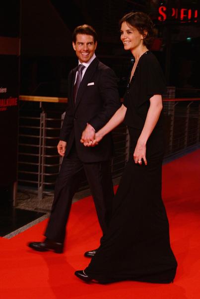 Том Круз и Кэти Холмс, наконец, вышли в свет вдвоем