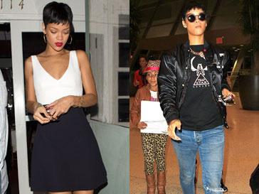 Рианна (Rihanna) в двух противоположных образах