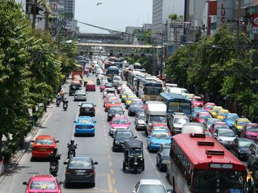 Дорожная пробка в Китае