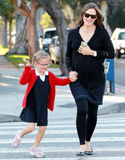 Дженнифер Гарнер (Jennifer Garner) с дочкой Вайолет (Violet Affleck)