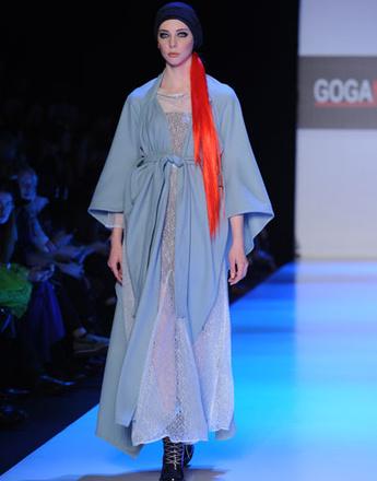 Показ коллекции GOGA NIKABADZE осень-зима 2013/14 Mercedes-Benz Fashion Week Russia