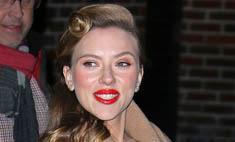 Скарлетт Йоханссон шокировала ярким макияжем