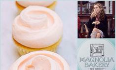 Классический ванильный капкейк «Магнолии Бейкери»