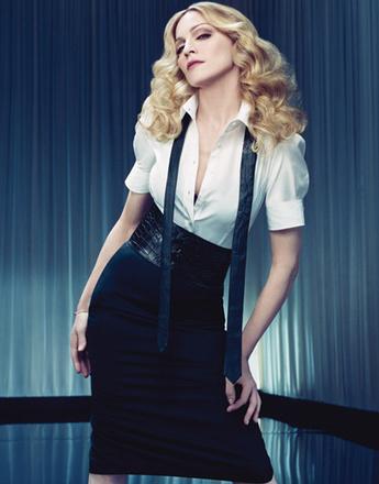 Мадонна в рекламной кампании H&M, 2007 год