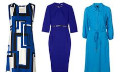 Синий: одежда и макияж сезона осень-2011