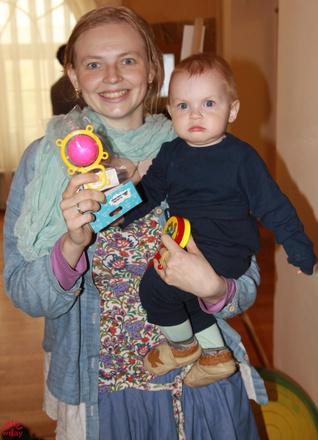 Спортивные дети в Казани, забег в ползунках 2016