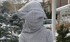 Американка придумала дизайн свитера для интровертов