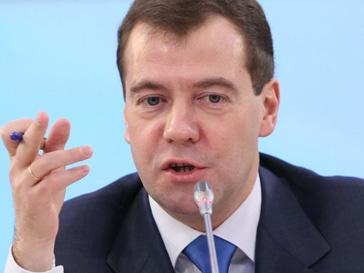 Дмитрий Медведев в эфире федеральных каналов